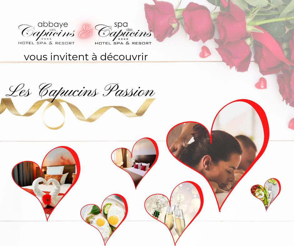 Capucins Passion Saint Valentin Spa des capucins Montauban